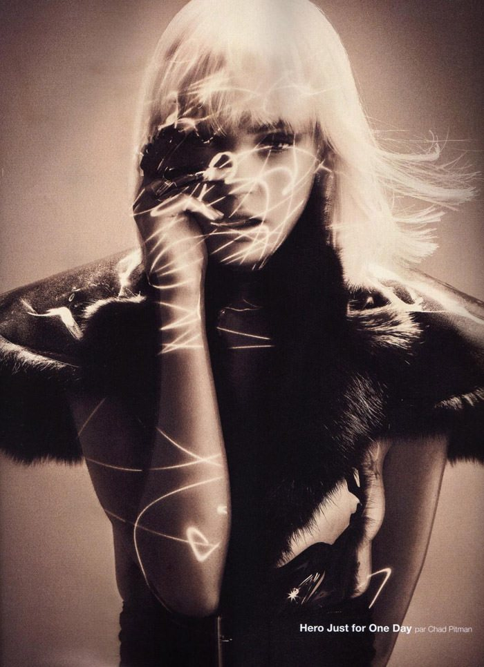 """Heidi Mount photographed by Chad Pitman in """"Hero Just For One Day"""" for Numéro #116, September 2010 3"""