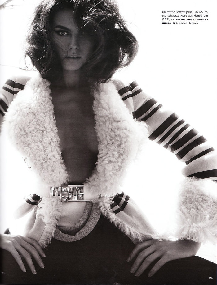 """Maryna Linchuk photographed by Phil Poynter in """"Ithaka"""" for Vogue Deutschland, September 2010 8"""