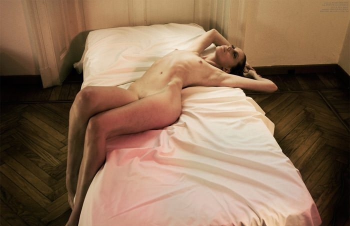 """Caroline Rausch & Kristina Skalova photographed by Oskar Cecere in """"Evelyn"""" for The Ones 2 Watch 7"""
