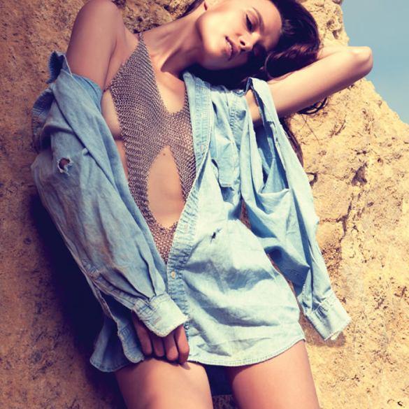 "Masha Rudenko photographed by Robert Sigler in ""Behind the Sun"" for Malibu Magazine 1"