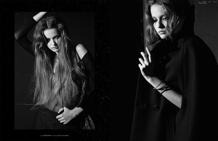 """Kristina Romanova photographed by Eric Guillemain in """"The Longest Night"""" for The Ones 2 Watch 7"""