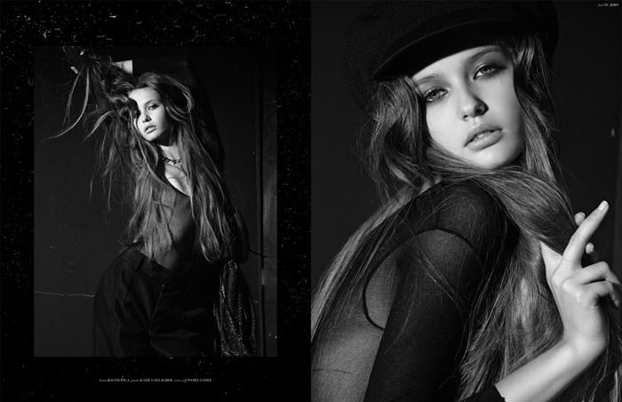 """Kristina Romanova photographed by Eric Guillemain in """"The Longest Night"""" for The Ones 2 Watch 10"""