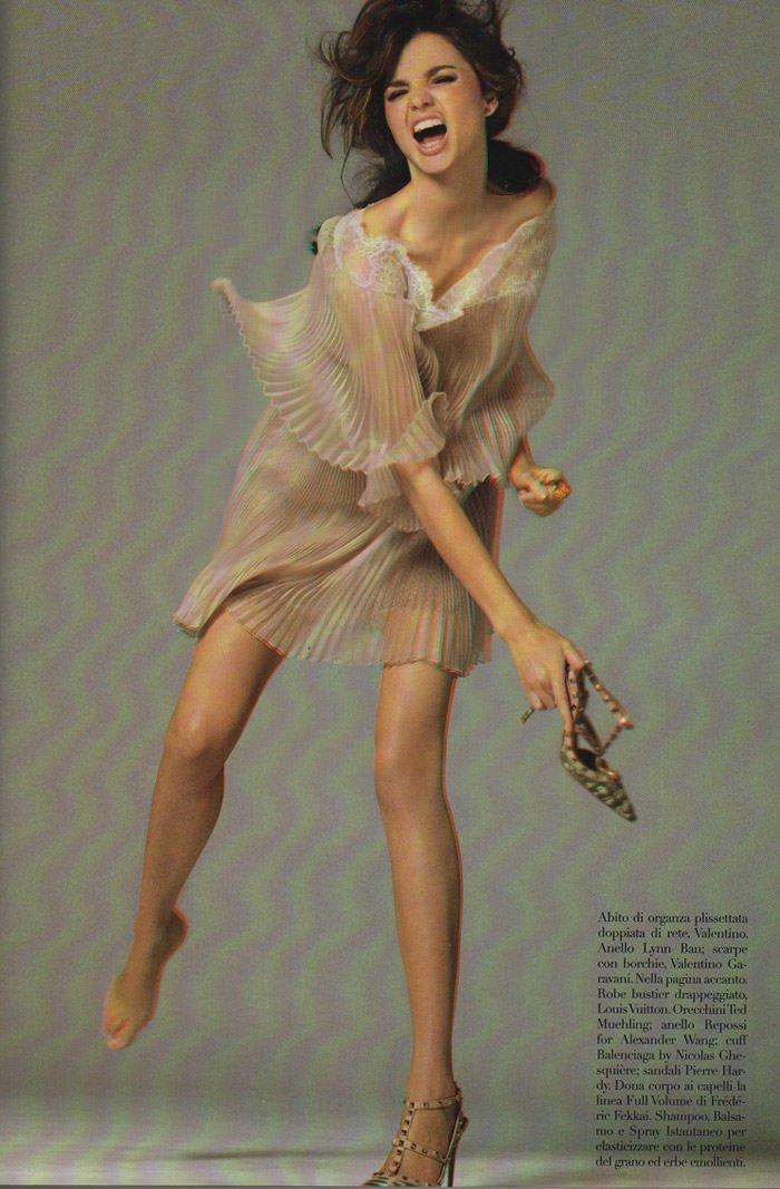 Miranda Kerr photographed by Steven Meisel for Vogue Italia, September 2010 11