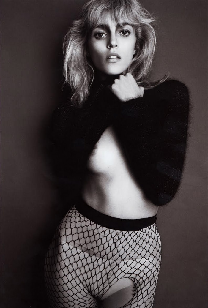 Anja Rubik photographed by Glen Luchford for Purple #14, Fall & Winter 2010 2