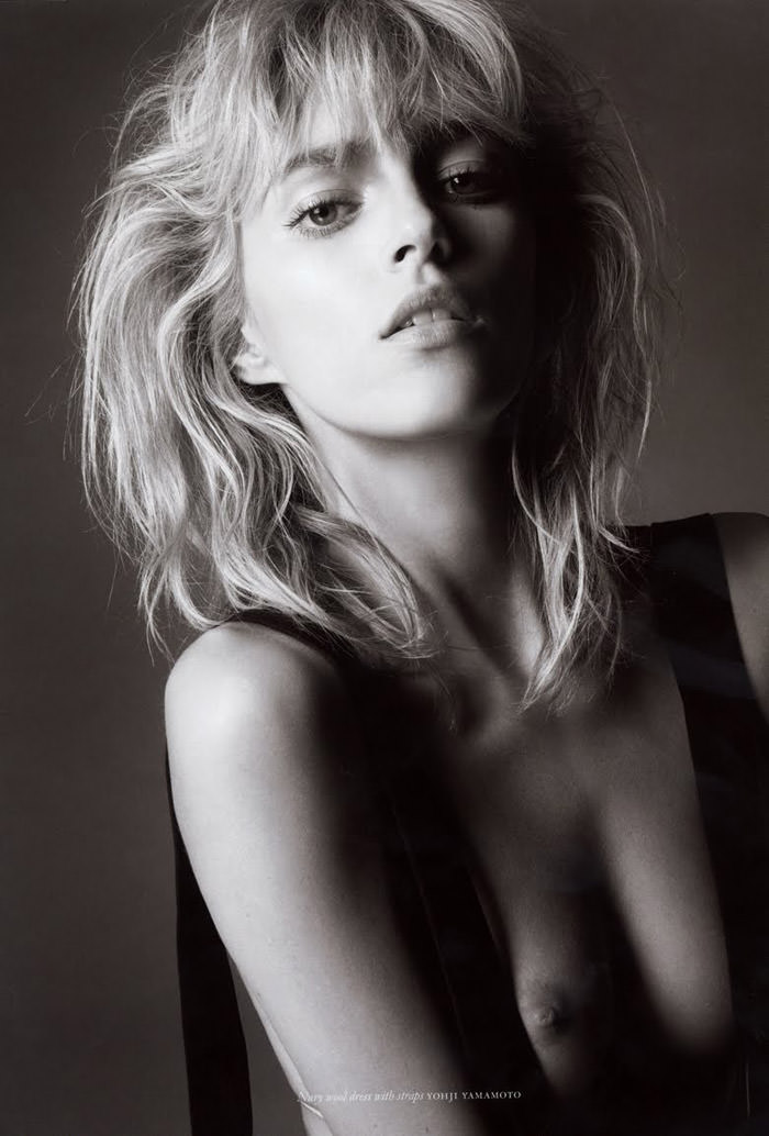 Anja Rubik photographed by Glen Luchford for Purple #14, Fall & Winter 2010 4