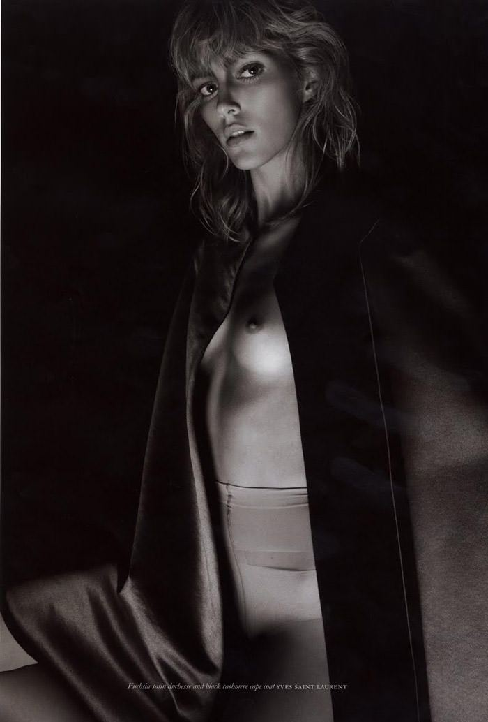Anja Rubik photographed by Glen Luchford for Purple #14, Fall & Winter 2010 / 2011 6