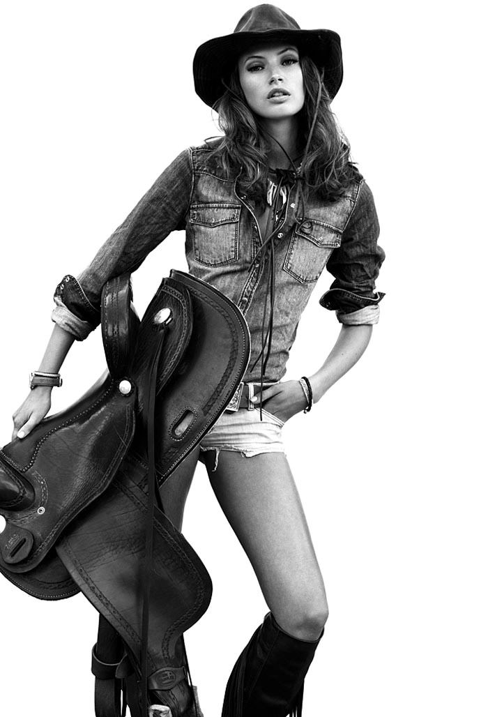 Mona Johannesson photographed by Jimmy Backius for Fashion Tale, Autumn & Winter 2010 6