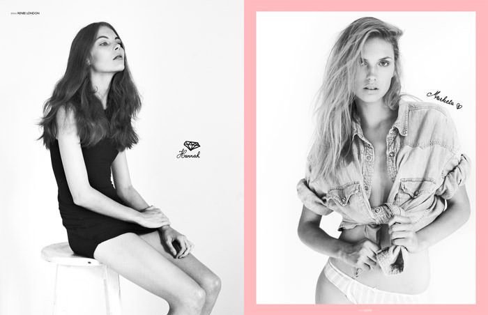 """""""Oh! You Pretty Things"""" photographed by Sigurd Grünberger for The Ones 2 Watch 4"""