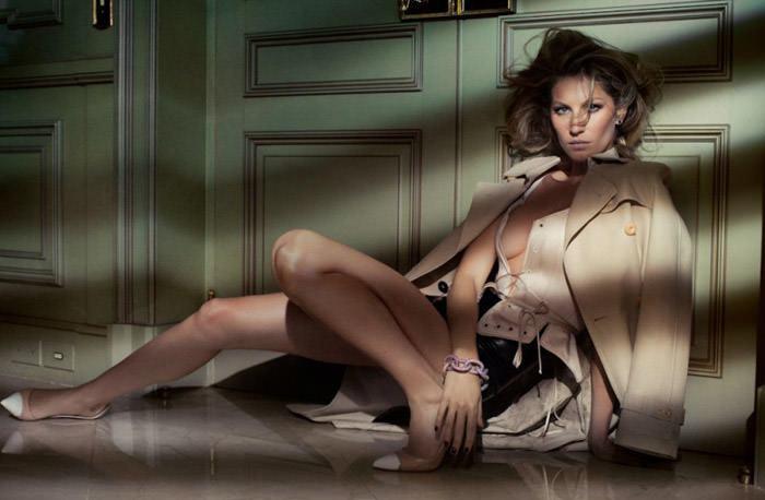 Gisele Bündchen photographed by Jacques Dequeker for Vogue Brazil, October 2010 2