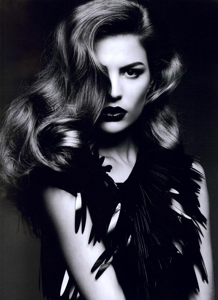 """Cameron Russell photographed by Ben Hassett in """"Equinoxe"""" for Numéro #117, October 2010 2"""