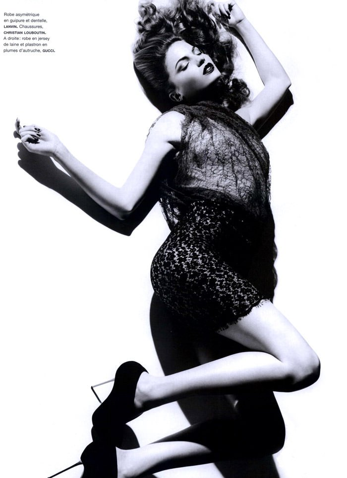 """Cameron Russell photographed by Ben Hassett in """"Equinoxe"""" for Numéro #117, October 2010 5"""