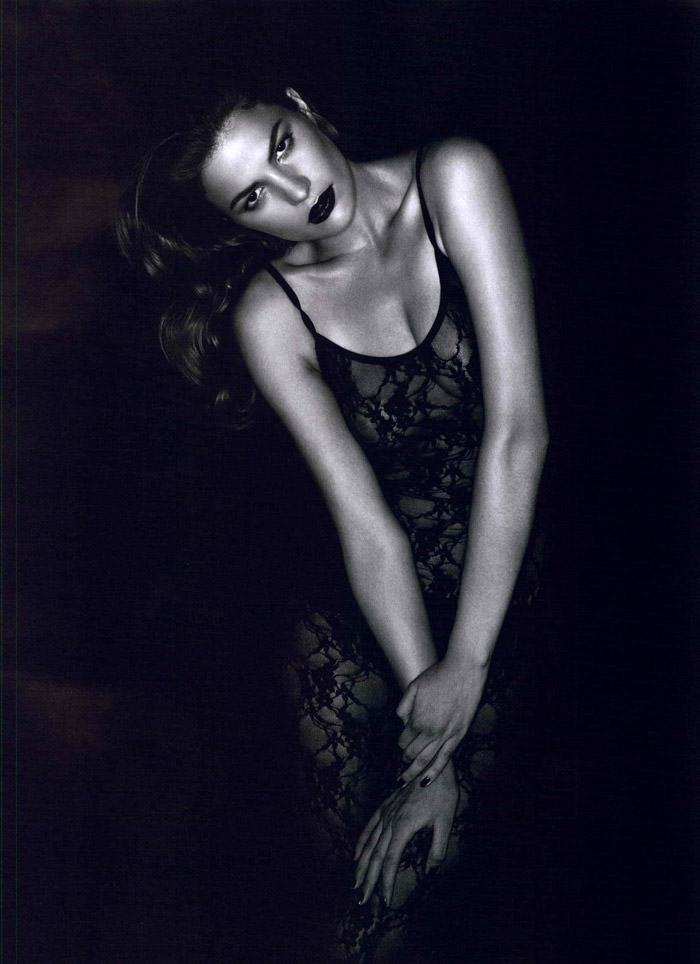 """Cameron Russell photographed by Ben Hassett in """"Equinoxe"""" for Numéro #117, October 2010 1"""