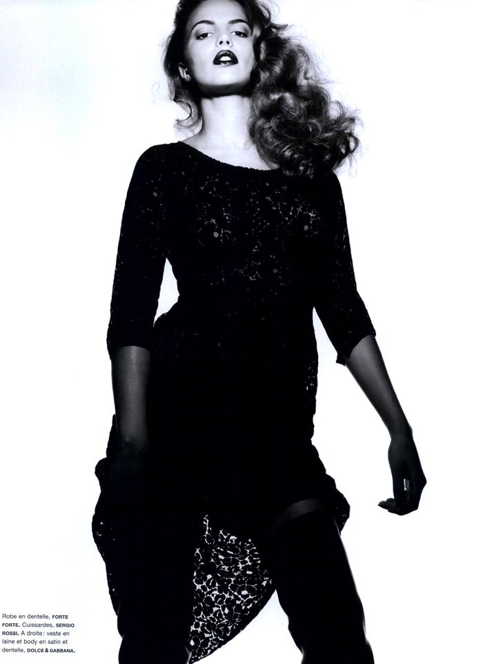 """Cameron Russell photographed by Ben Hassett in """"Equinoxe"""" for Numéro #117, October 2010 9"""