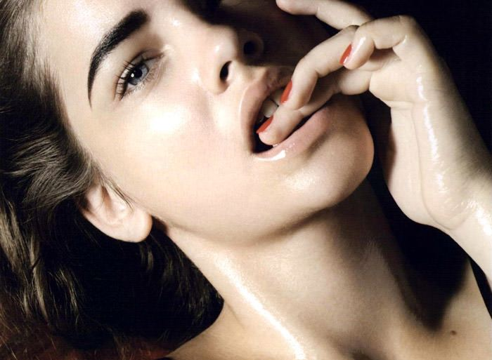 """Barbara Palvin photographed by Liz Collins in """"Coral"""" for Muse #23, Fall 2010 3"""
