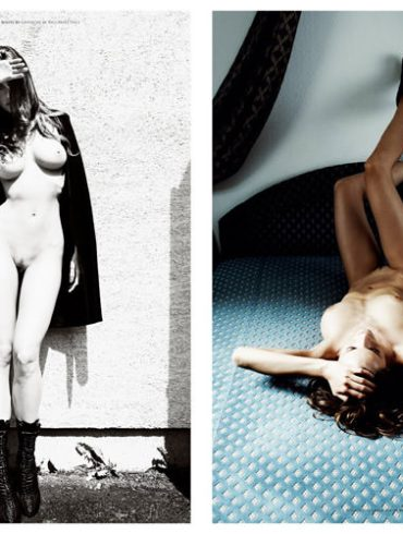 "Réka Ebergényi photographed by István Lábady in ""Flesh Of The Orchid"" for The Room Magazine, Fall & Winter 2010 / 2011 1"