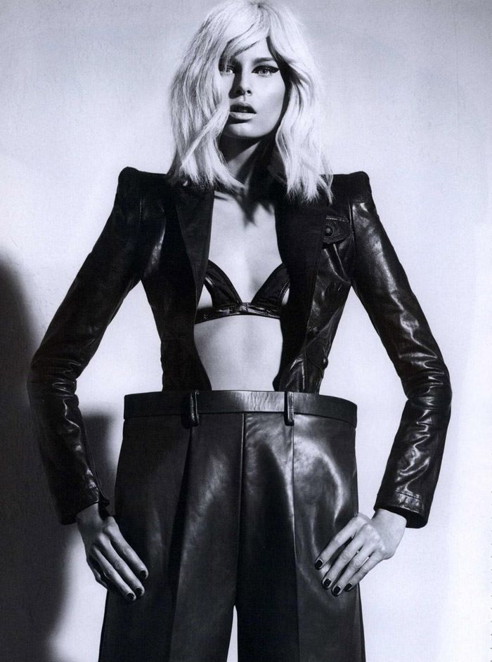 Hana Soukupova photographed by Robbie Fimmano for Flair, October 2010 3