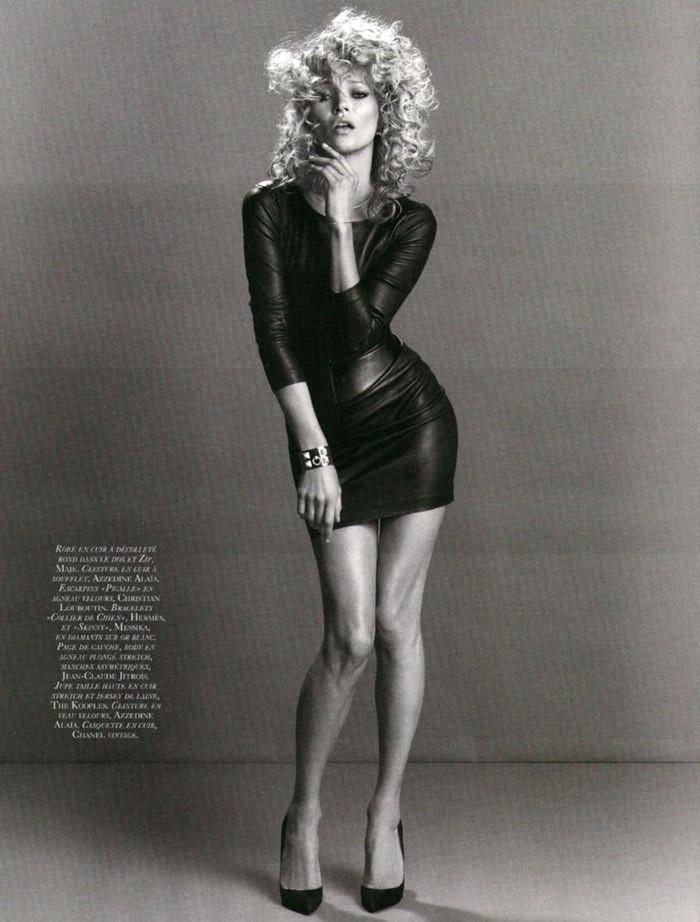 """Kate Moss photographed by Inez & Vinoodh in """"Dans La Peau"""" for Vogue Paris, September 2010 9"""