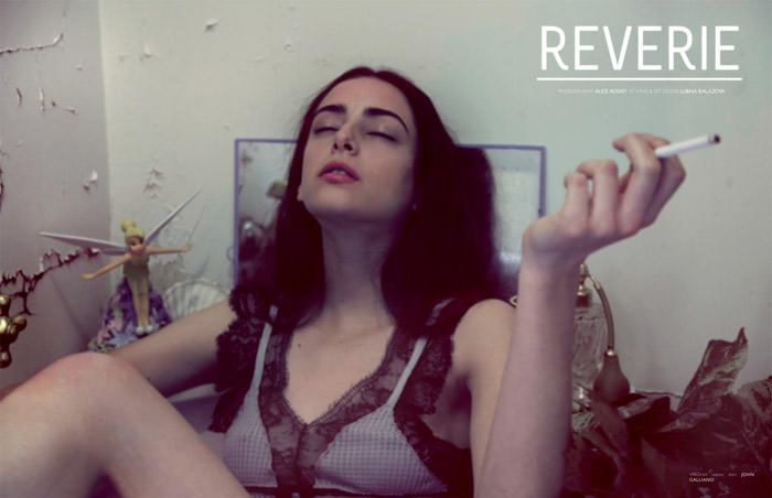 """Virginia Guidetti & Kat Hessen photographed by Alice Rosati in """"Reverie"""" for The Ones 2 Watch 2"""