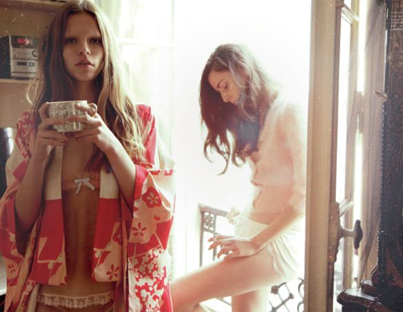"""Virginia Guidetti & Kat Hessen photographed by Alice Rosati in """"Reverie"""" for The Ones 2 Watch 1"""