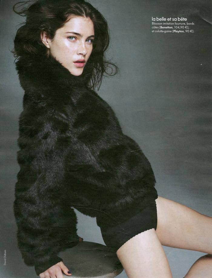 Anna Christine Speckhart photographed by David Oldham for Elle France, October 2010 7