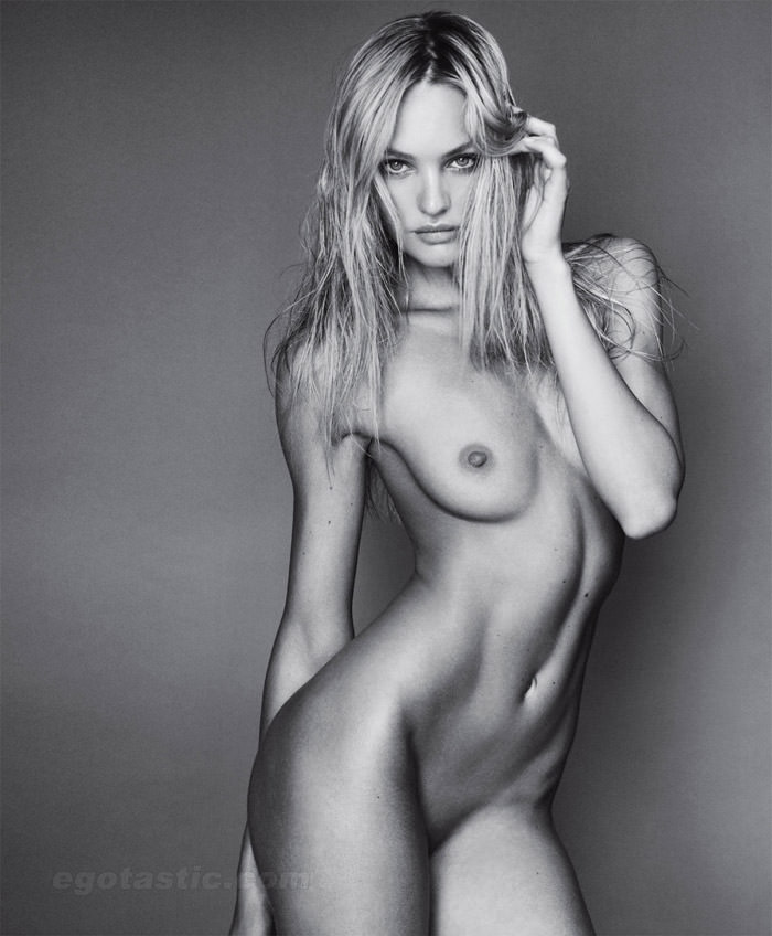Candice Swanepoel photographed by Mario Testino in VMan, Fall 2010