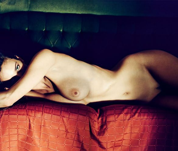 "Réka Ebergényi photographed by István Lábady in ""Flesh Of The Orchid"" for The Room Magazine, Fall & Winter 2010 / 2011 2"