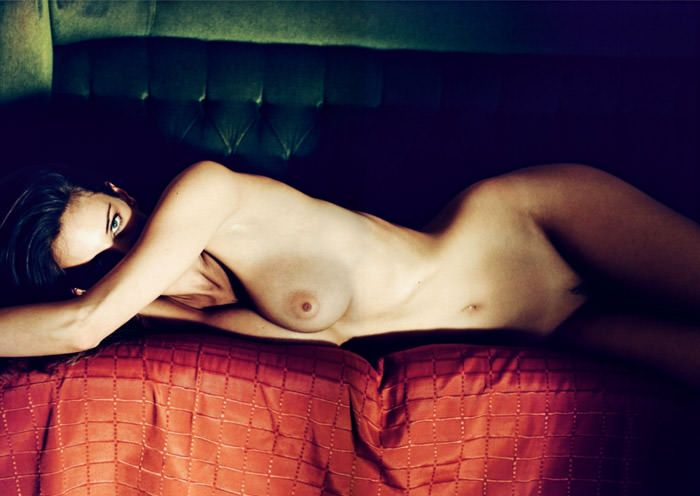 """Réka Ebergényi photographed by István Lábady in """"Flesh Of The Orchid"""" for The Room Magazine, Fall & Winter 2010 / 2011 2"""