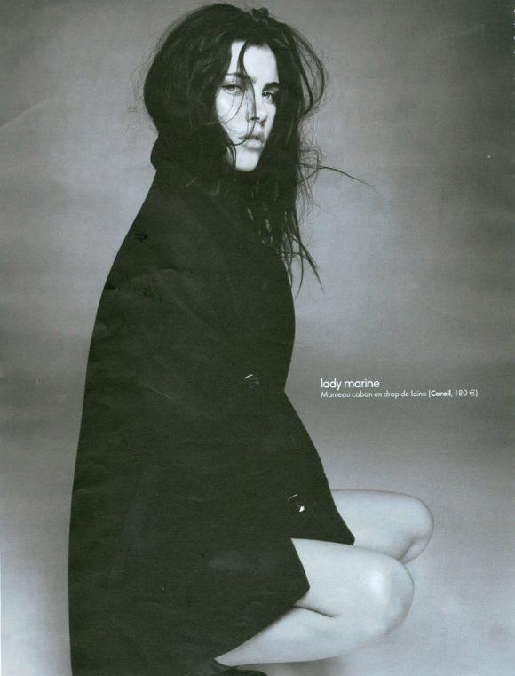 Anna Christine Speckhart photographed by David Oldham for Elle France, October 2010 3