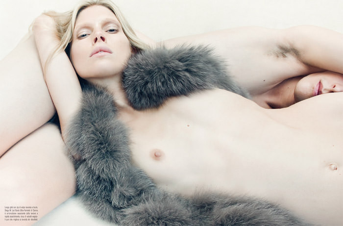 """""""Venus In Furs"""" photographed by Steven Meisel for Vogue Italia, November 2010 6"""