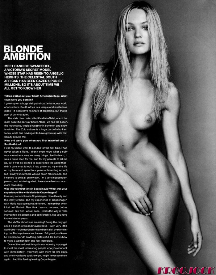 "Candice Swanepoel photographed by Mario Testino in ""Candice Does Copenhagen"" for VMan, Fall 2010 8"
