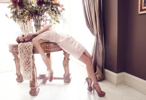 Wiola Kowal photographed by Emre Guven for Harper's Bazaar Türkiye, November 2010 1