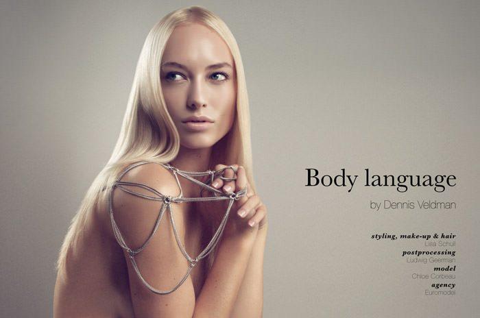 "Chloe Corbeau photographed by Dennis Veldman in ""Body Language"" 2"