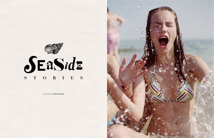 """""""Seaside Stories"""" photographed by Rokas Darulis for The Ones 2 Watch 2"""