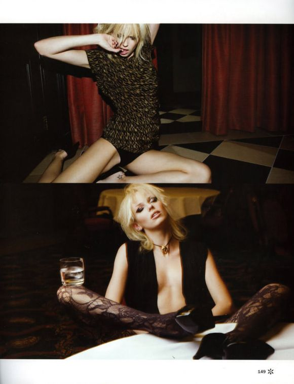 """Dorith Mous photographed by Andy Tan in """"For Your Pleasure"""" for JFK Magazine, December & January 2010 / 2011 6"""