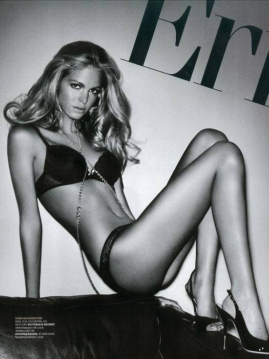 Erin Heatherton photographed by Vincent Peters for GQ U.K., February 2011 3