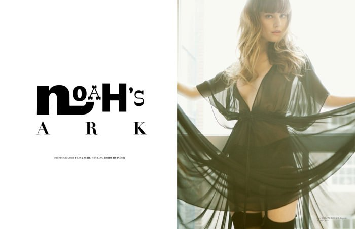 """Noah's Ark"" photographed by Fiona Ruhe for The Ones 2 Watch, Issue #09 2"