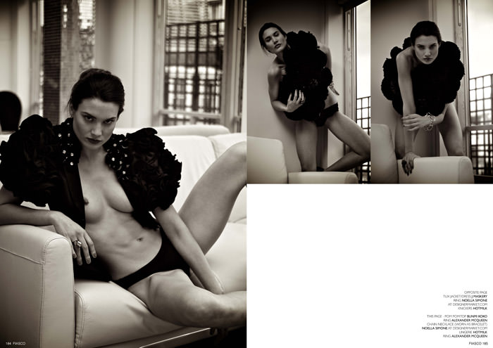 """""""Pomp & Tassel"""" photographed by Dave Wise for Fiasco Magazine, Black & White Issue 4"""