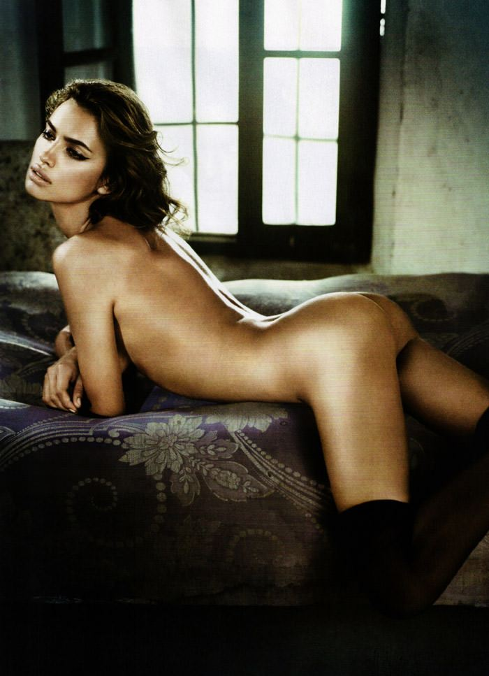 Irina Shayk photographed by Vincent Peters for GQ Spain, December 2010 7