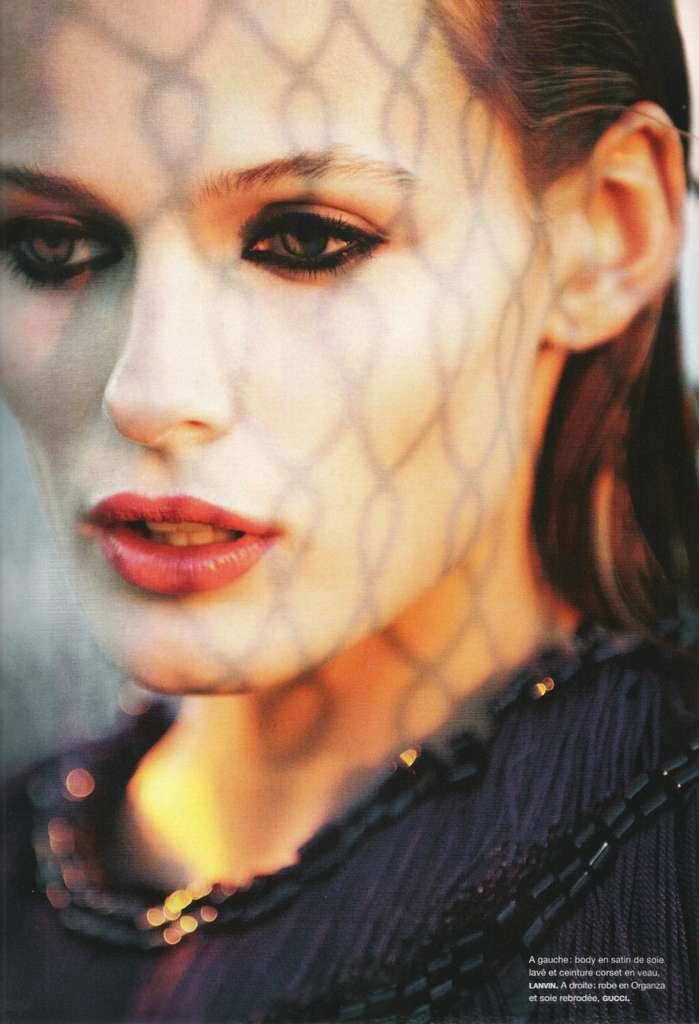 Edita Vilkeviciute photographed by Jeff Burton for Numéro #120, February 2011 8