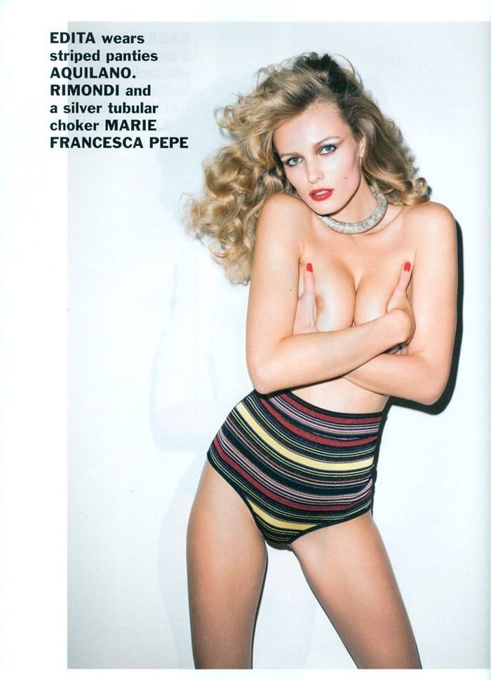 Enikő Mihalik and Edita Vilkeviciute photographed by Terry Richardson for Purple, Spring 2011 2