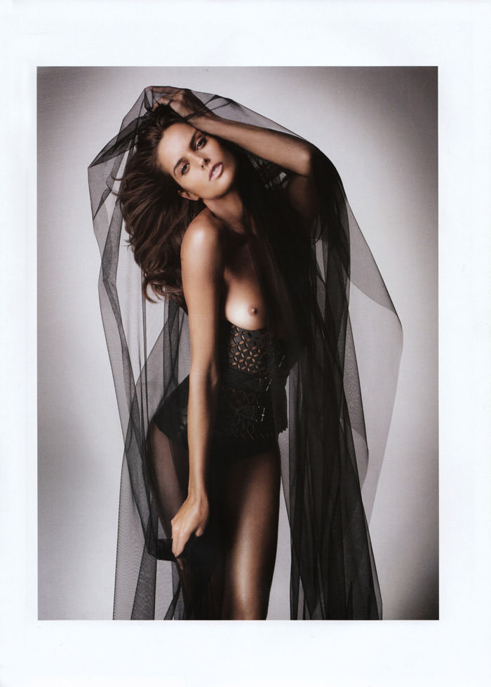 Izabel Goulart photographed by Danielle Duella and Iango Henzi in Muse #23, Spring 2011