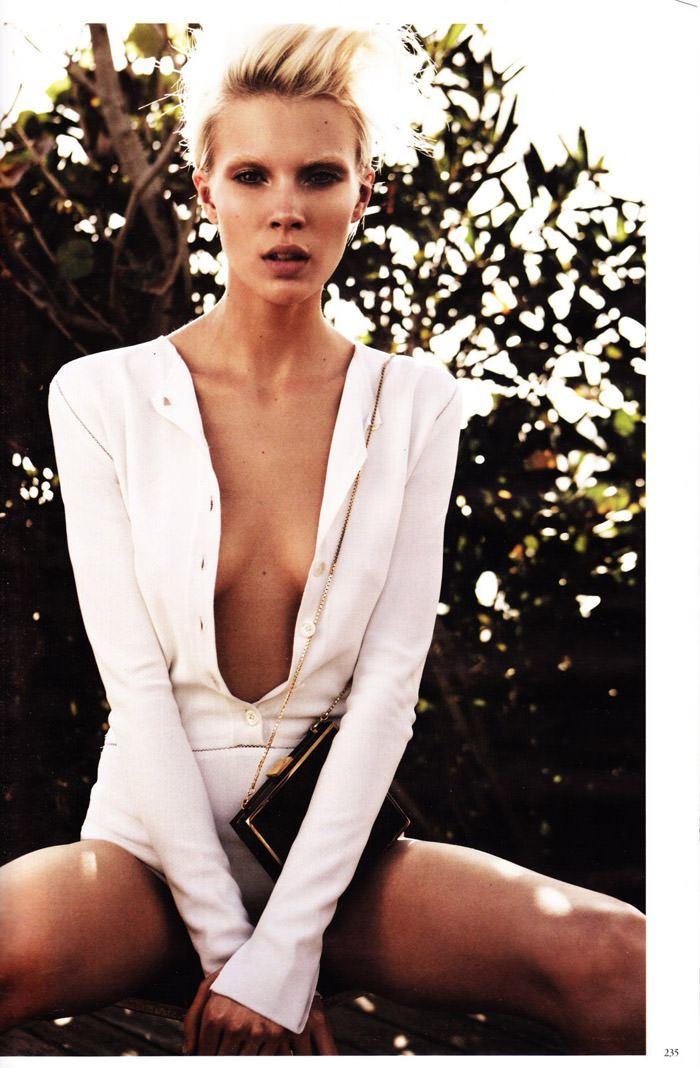 "Britt Maren photographed by Knoepfel & Indlekofer in ""Carte Blanche"" for Vogue Deutschland, April 2011 5"