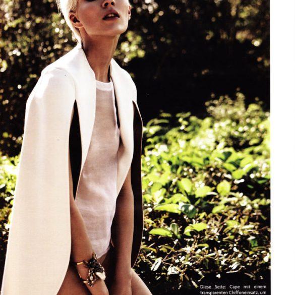 "Britt Maren photographed by Knoepfel & Indlekofer in ""Carte Blanche"" for Vogue Deutschland, April 2011 1"