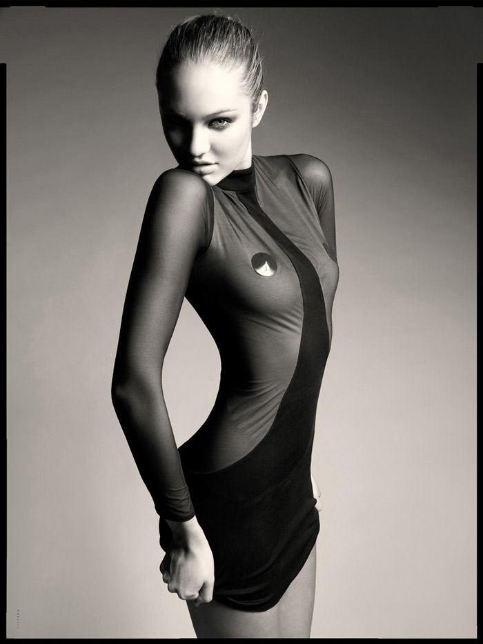 Candice Swanepoel photographed by Seth Sabal 7