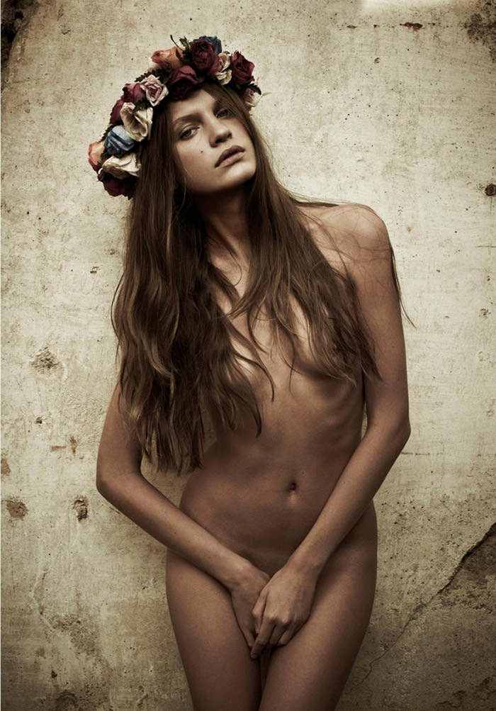 "Regina Feoktistova photographed by Mariano Vivanco in ""Like A Virgin"" for Hercules, Spring & Summer 2011"