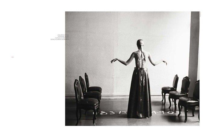 "Linda Vojtova photographed by Taka Mayumi in ""Art Fame"" for French Revue de Modes, Spring 2011 5"