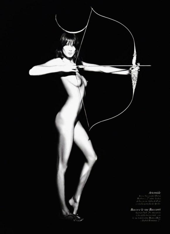 Karl Lagerfeld: Pirelli Calendar 2011 5