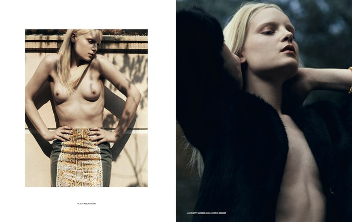 Charlotte photographed by Chad Pickard & Paul McLean for Smug #4 5
