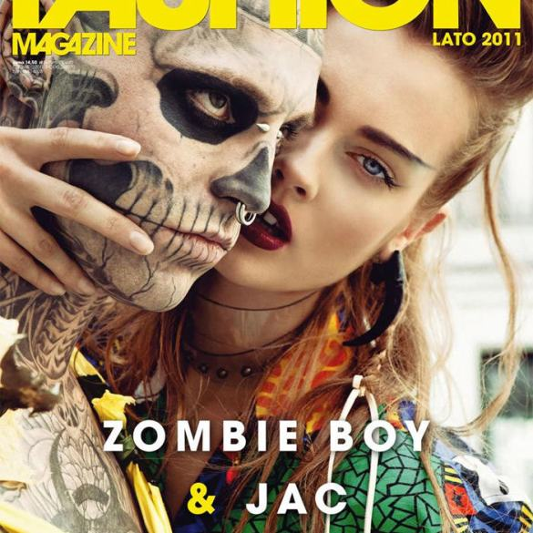 "Cover: Monika ""Jac"" Jagaciak for Fashion (Polska) 1"