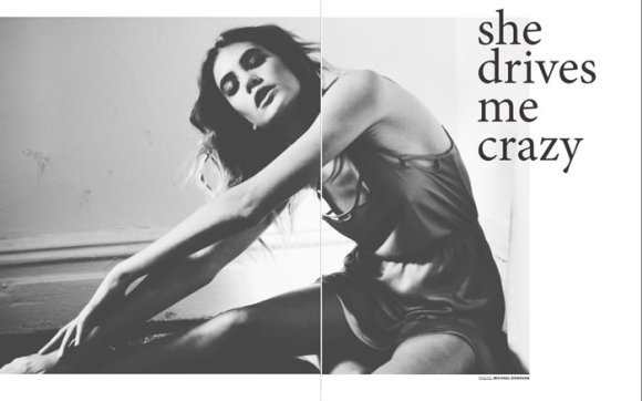 "Sam Kober photographed by Michael Donovan in ""She Drives Me Crazy"" for Ozon 1"